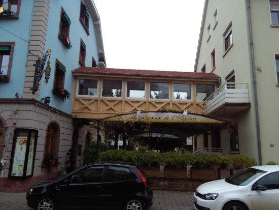 Hotel Du Parc: La passerelle