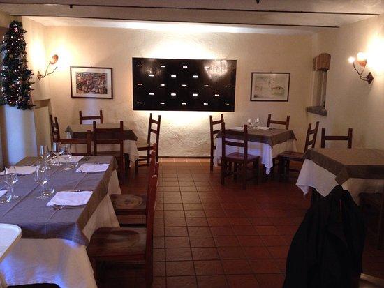 Agriturismo Assiuolo: La sala ristorante