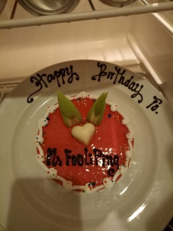 Pleasing Yummy Birthday Cake Delivered To Room For Celebrations Picture Funny Birthday Cards Online Alyptdamsfinfo