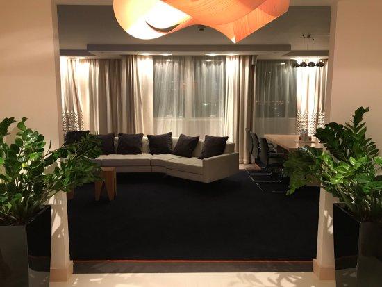 Radisson Blu Belorusskaya Hotel: Living Room