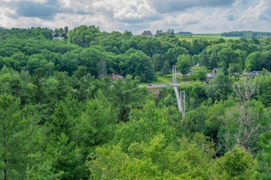Parc de la Gorge de Coaticook: Vue depuis les tours d'observation