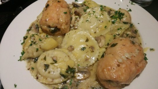 Littleton, MA: Chicken Rollatini with Rosemary Chicken Ravioli