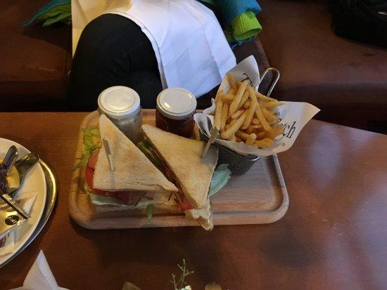 Grandhotel Stary Smokovec: The biggest sandwich ever