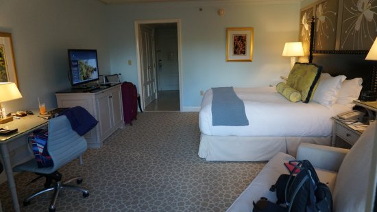 The Ritz-Carlton, Grand Cayman: Our room.