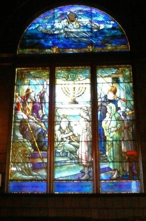 Jekyll Island Historic District: Tiffany Window in the Chapel