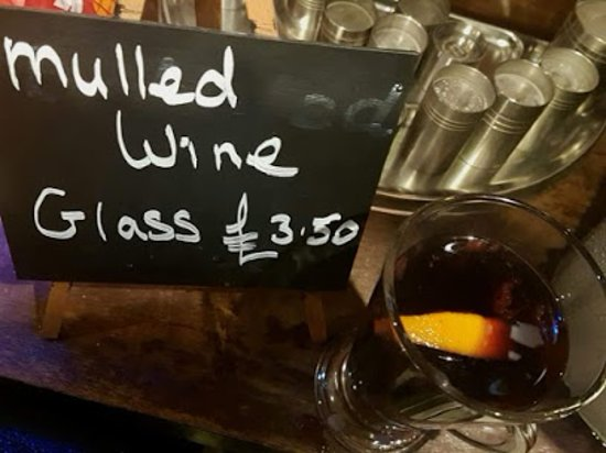 River, UK: Mulled wine for Xmas