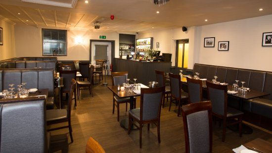 Turton, UK: Upstairs dining and new bar