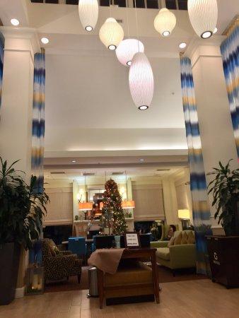 Elegant Hilton Garden Inn Kennett Square: Hotel Lobby  Btw, Smells Wonderful When  You Walk