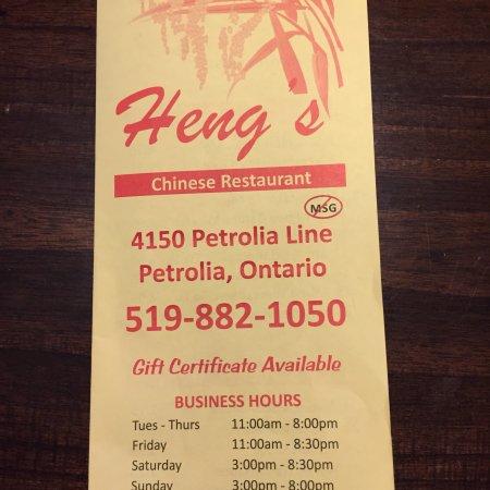 Heng's Chinese Restaurant