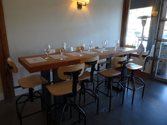Woodinville, Etat de Washington : A table reserved