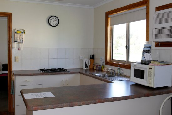 Cape Jervis, Australia: Lovely Kitchenette with everything you need