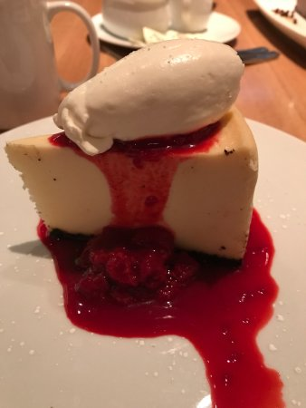 White Chocolate Cheesecake Picture Of Cactus Club Cafe First Canadian Place Toronto Tripadvisor
