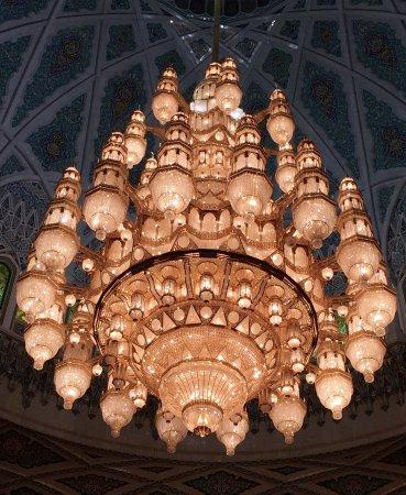 Sultan Qaboos Grand Mosque: Leuchter