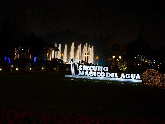Circuito Magico Del Agua : Foto de circuito magico del agua lima main entrance