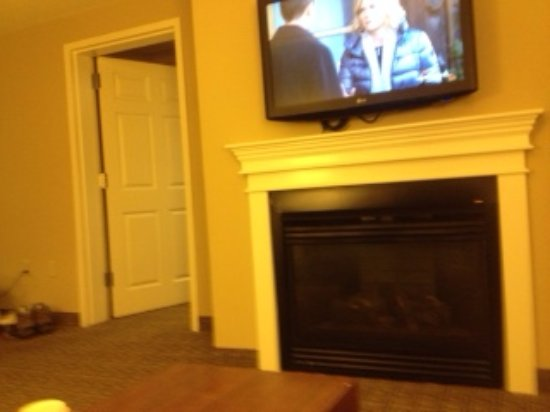 Fireplace And Tv Bedroom Door Picture Of Comfort Inn Suites