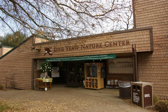 Effie Yeaw Nature Center: Much to see here. It's a great place for hands-on for children.