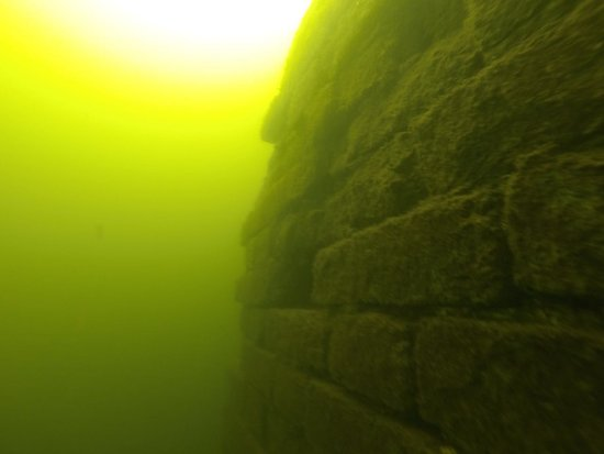 Kuancheng County, Çin: Underwater Great Wall