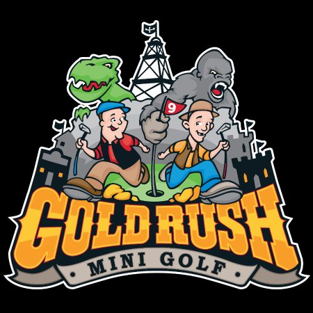 ‪Gold Rush Mini Golf‬