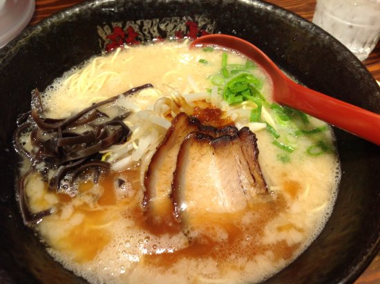 Tatsunoya Shinjuku Otakibashidori: Tonkotsu ramen(concentrated soup)