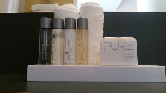 The Met Hotel: Bathroom amenities