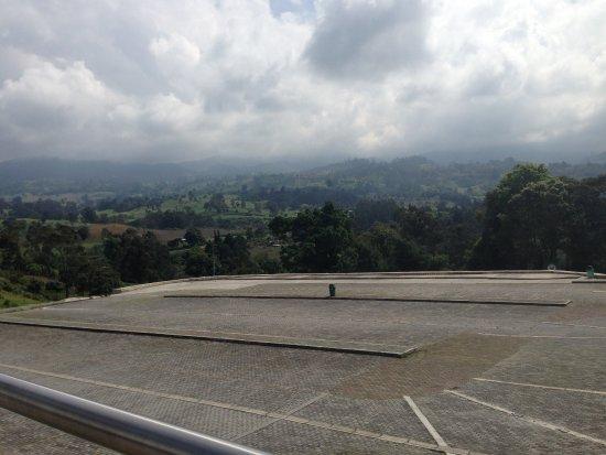 Silvania, Colombia: Estacionamiento