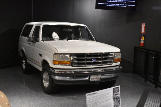 1992 Ford Bronco Used In The O J Simpson Slow Speed