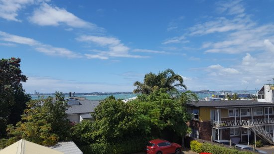 Abaco On Jervois: View from out Sea View Room!