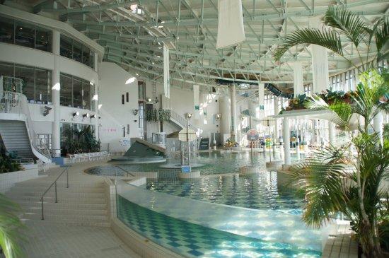 Nishinomiya, Japan: リゾ鳴尾浜の「全天候型屋内プール」<年中営業>