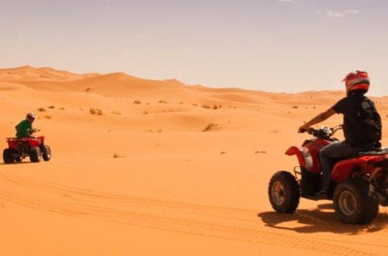 ATV Quad Cykling i Merzouga ørkenen