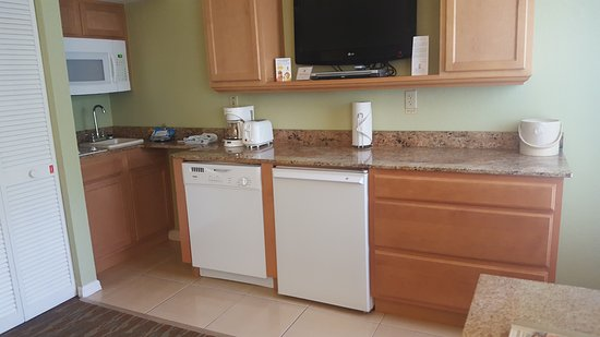 """Star Island Resort and Club: The smaller kitchen in the 3rd """"bedroom"""""""