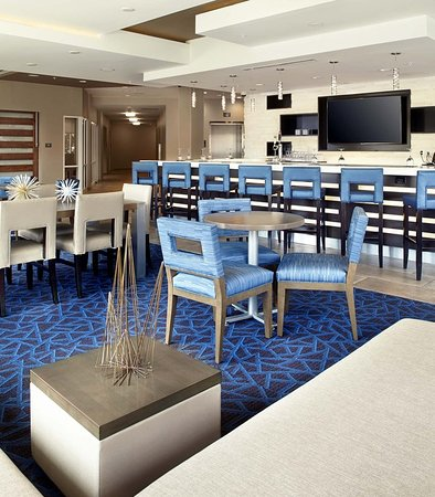 Relax And Meet In Our Bar Lounge Billede Af Residence Inn Durham Mcpherson Duke University