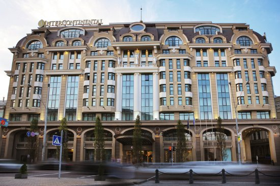 InterContinental Kiev: Exterior