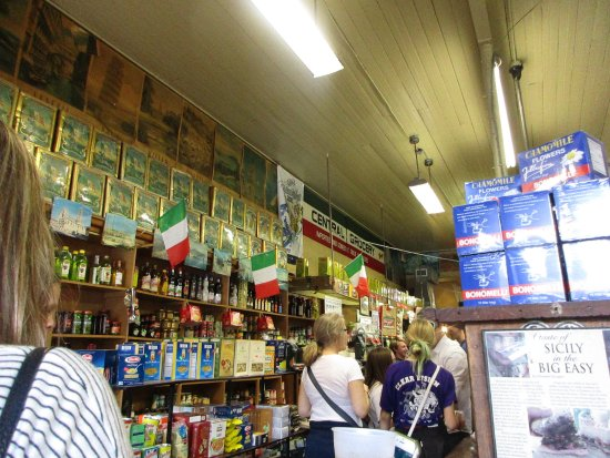 Inside Central Grocery
