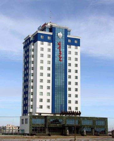 Chinggis, منغوليا: Sky lounge