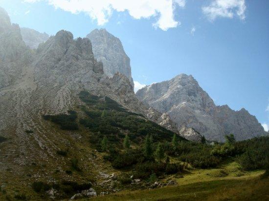 Zoldo Alto, Itálie: Il Pelmo dalla forcella
