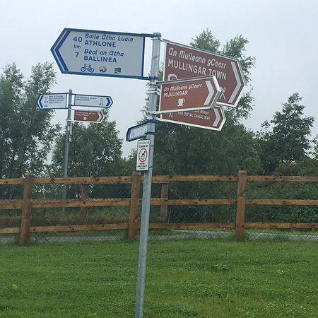 County Westmeath, Ireland: Great Greenway to see the Irish countryside completely separated from traffic. Flat and an easy