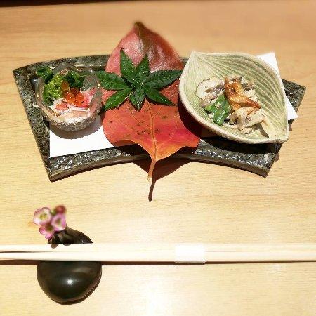 Ginza Sushi-Ichi: appetiser
