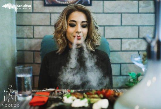 Voodoo Hookah Lounge: Smoke...