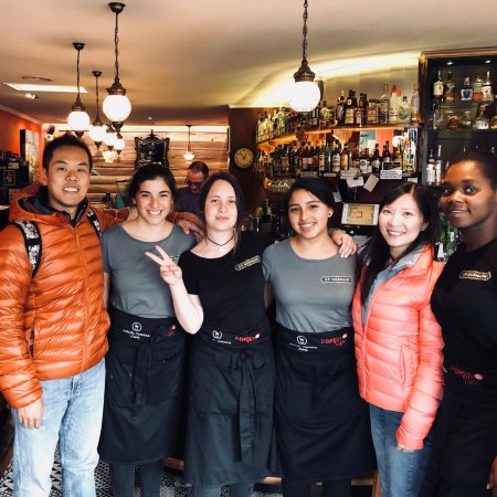 Caffe El Barista Thank You For These Lovely Ladies For The Amazing Hospitality Feels