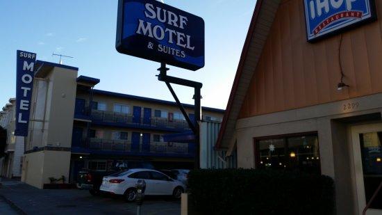 Surf motel san francisco californie voir les tarifs for Motel bas prix