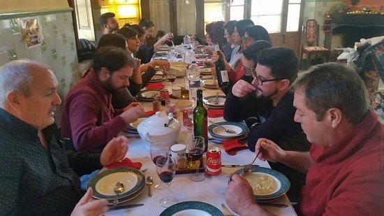 Torrelles de Foix, Испания: Comida Navidad