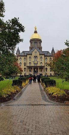 University of Notre Dame: November was cold and rainy but still beautful