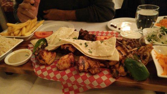Chicken platter pasha authentic turkish cuisine for Authentic turkish cuisine