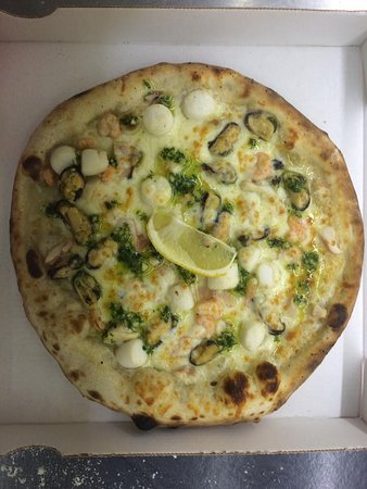 La Courneuve, Frankrijk: La pizza fruits de mer