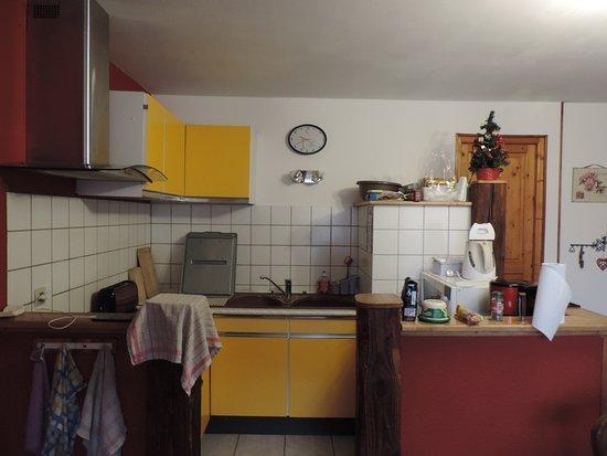 Cuisine ouverte - Bild von Gite Alsacien, Ribeauville ...
