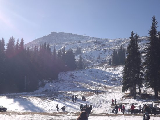 Vitosha Mountain: still snow