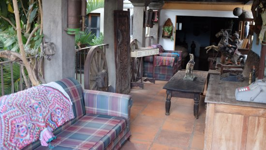 Posada San Sebastian: Upstairs hang out area