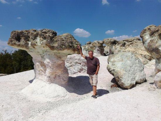 Kardzhali Province, Bulgaria: Каменные грибы в горах Болгарии.