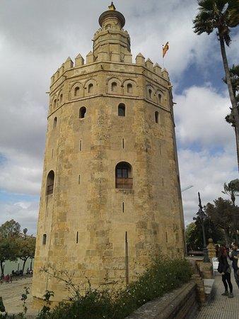 Provincia di Siviglia, Spagna: ftorre del oro