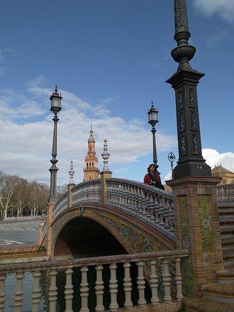 Province of Seville, Spain: plaza de España